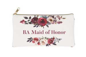 BA Maid of Honor Cosmetic Bag