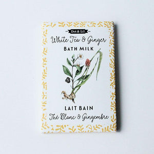 White Tea & Ginger Bath Milk Sachet