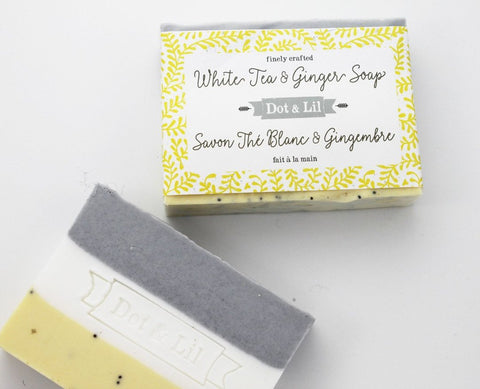 Image of White Tea & Ginger soap
