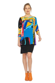 3/4 Regular SLV Tunic Dress