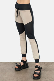 Color Block Cuff Pants