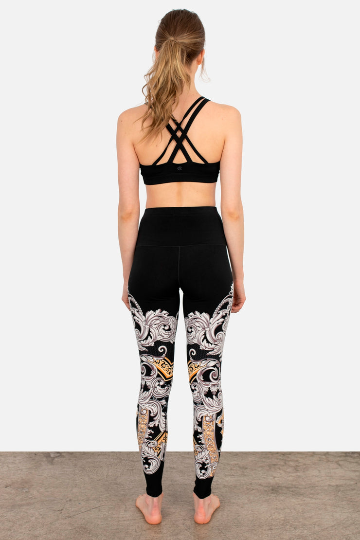 High Waist Single Layered Yoga Pants
