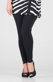 Double Waist Band Long Leggings