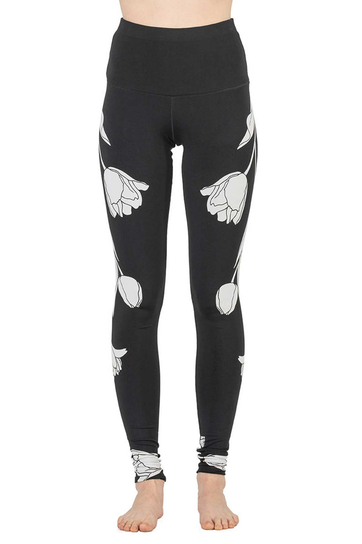 High Waist DBL Layered Yoga Pants
