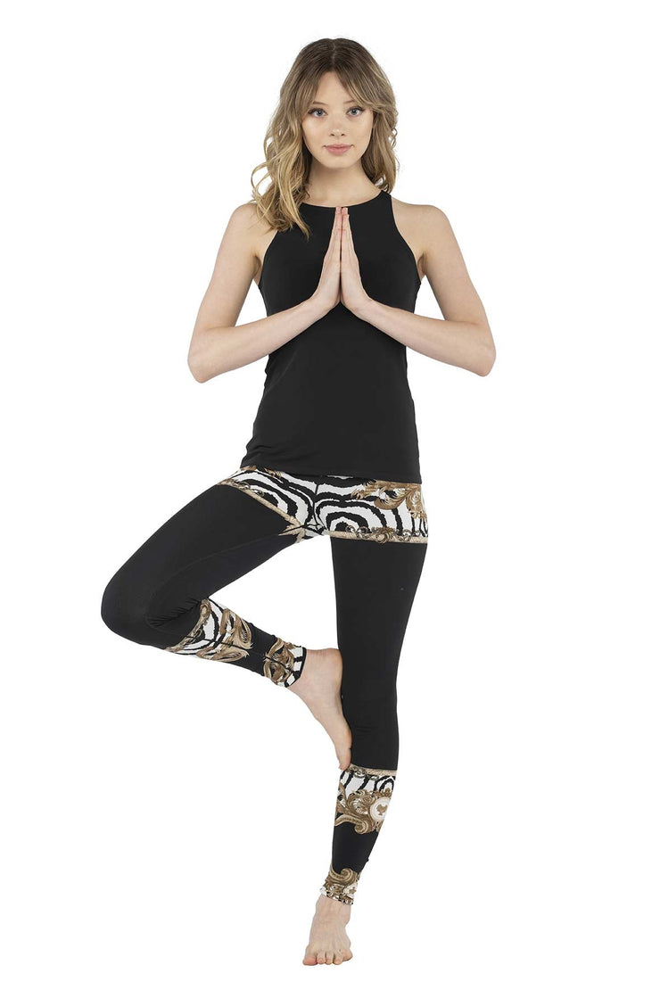High Waist Double Layered Yoga Pants