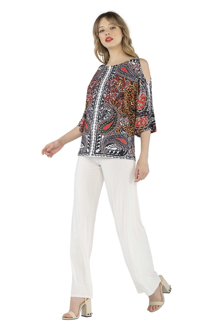 Kimono SLV Cold Shoulder Easy Top