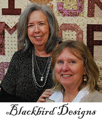 Barb and Alma of Blackbird designs created the Wild Orchid Collection for Moda Fabrics
