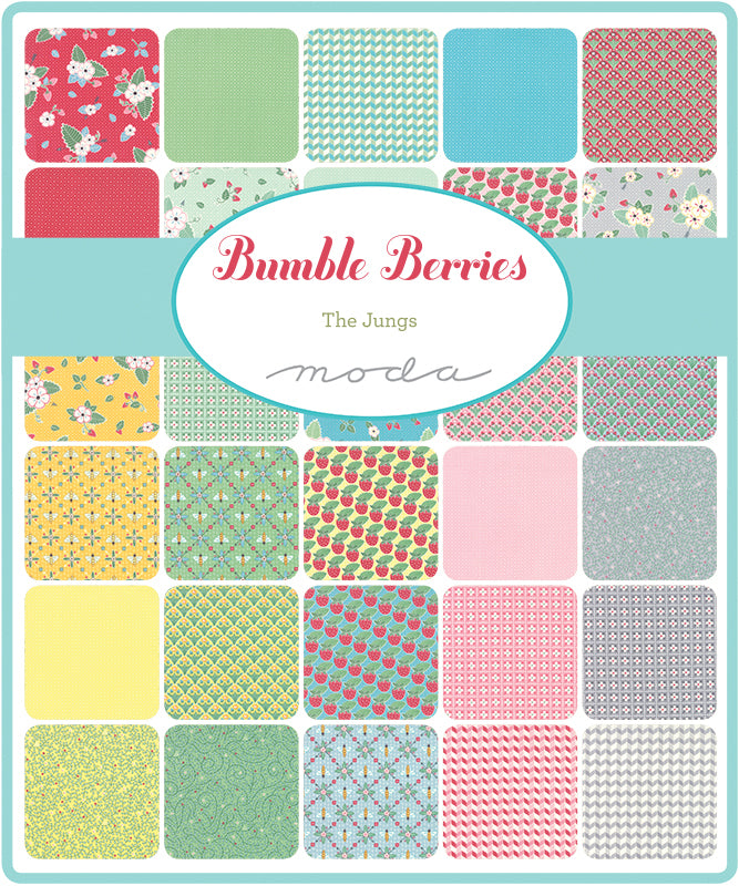 Bumble Berries Mini Charm Pack