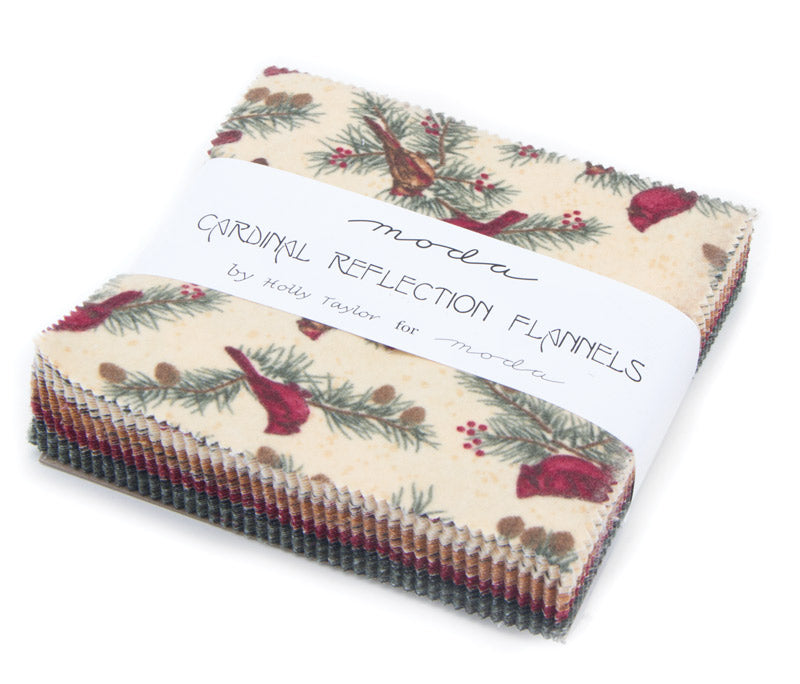 Cardinal Reflections Flannel Charm Packs
