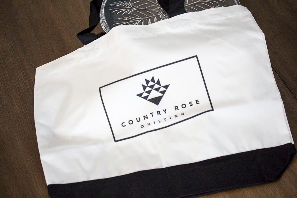 Country Rose Quilting Tote