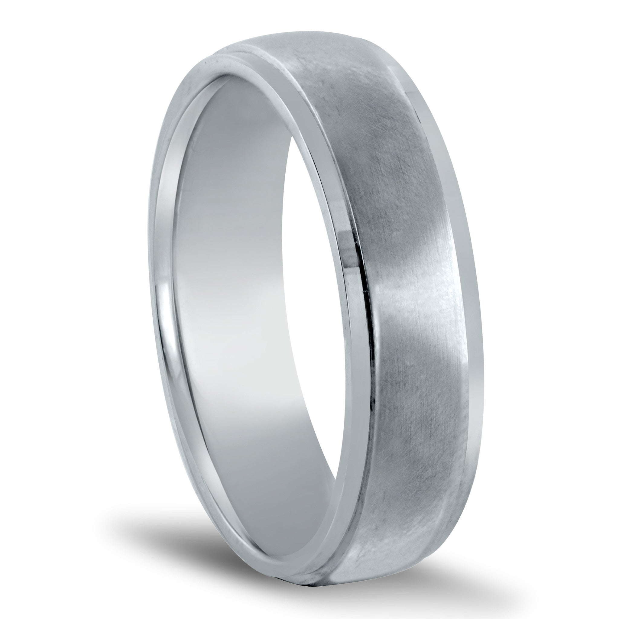 wedding en curved with bands birks finish platinum cobalt him for band matte black