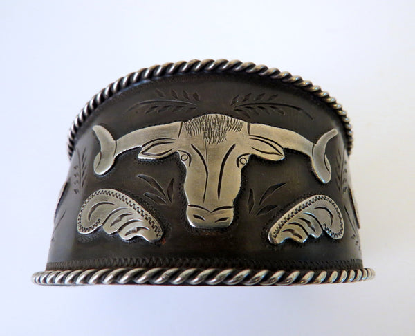 9943 New Handmade TERRY ALWARD Large Cuff Bracelet
