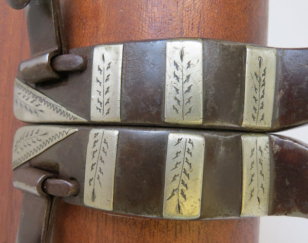 10008 Handmade DONNIE BARNETT Double Mounted Spurs