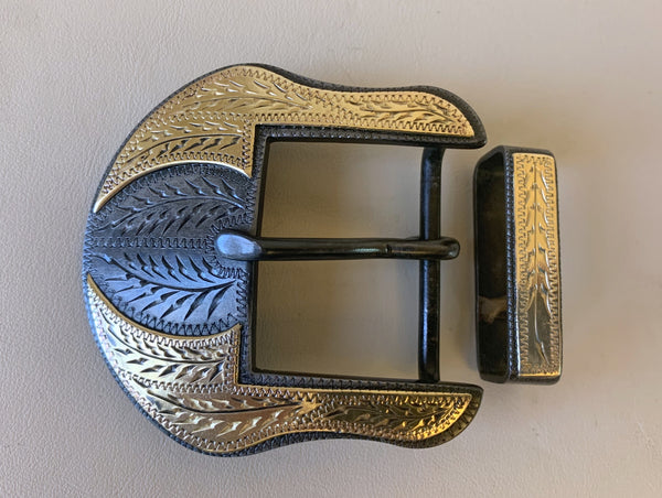 "10689 New Handmade DAVID HUNT 1 ½"" Belt Buckle"