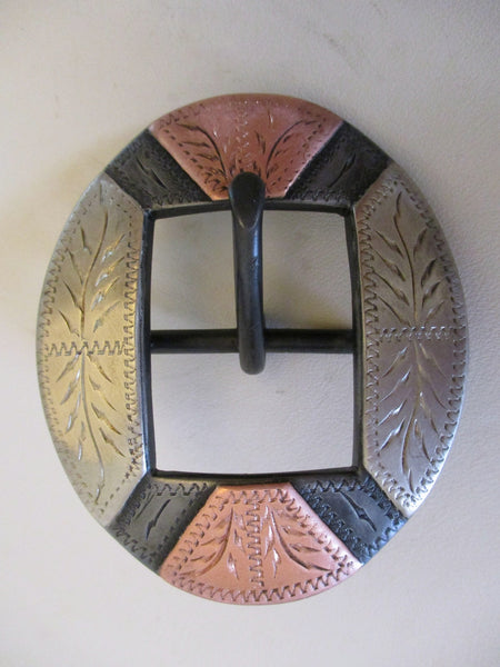 "10606 New Handmade DAVID HUNT 1"" Headstall or Chap Belt Buckle - Sale Pending"