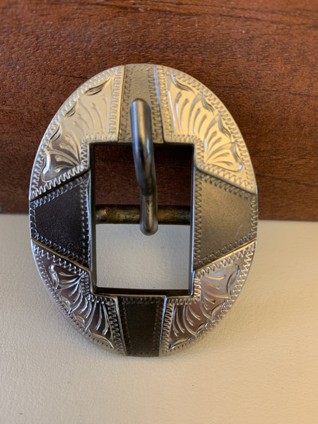 "10778 New Handmade DON ROGERS ¾"" Headstall Buckle"