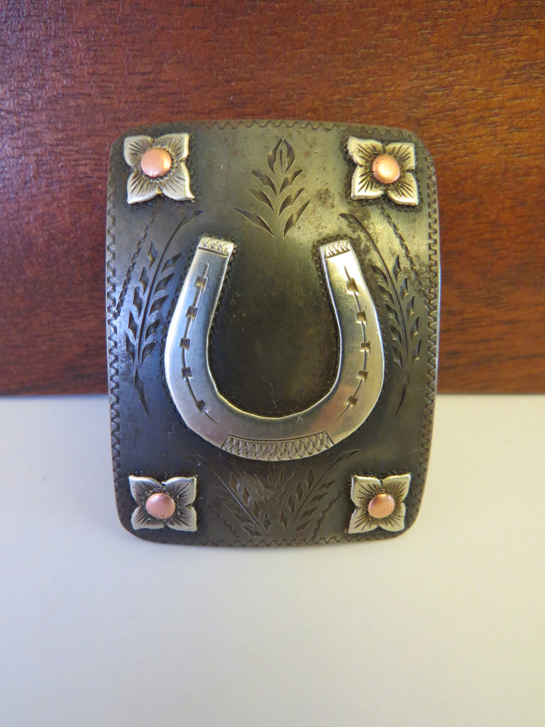 10026 Handmade MIKE BEDNORZ Trophy Style Headstall Buckle