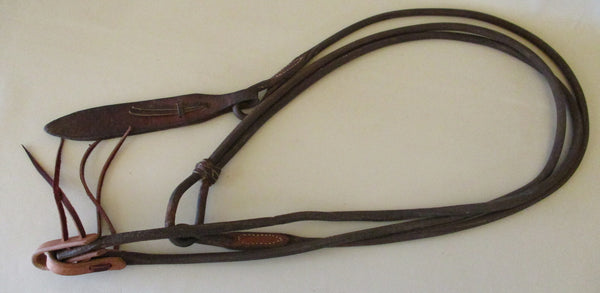 10329 Used Leather Schutz Brothers Leather Romal Romel Reins