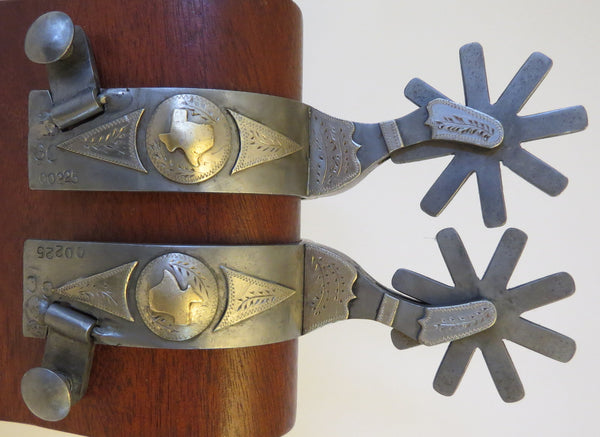 9772 Handmade GEORGE CANNON Spurs