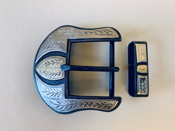 10684 New Handmade DAVID HUNT Belt Buckle
