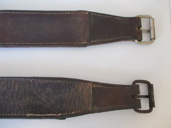10334 Lot of Two Flank Rear Girth Saddle Cinches