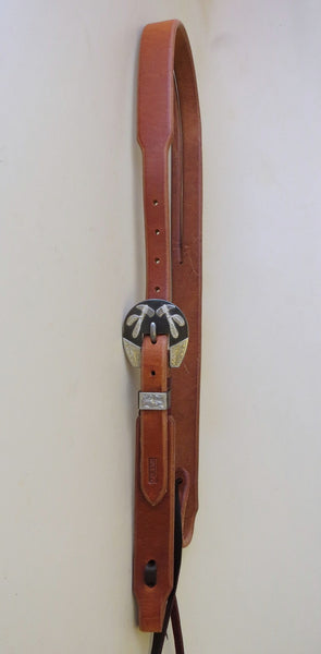 10207 New Handmade RON CARLTON Harness Headstall DON ROGERS Tomahawk Buckle