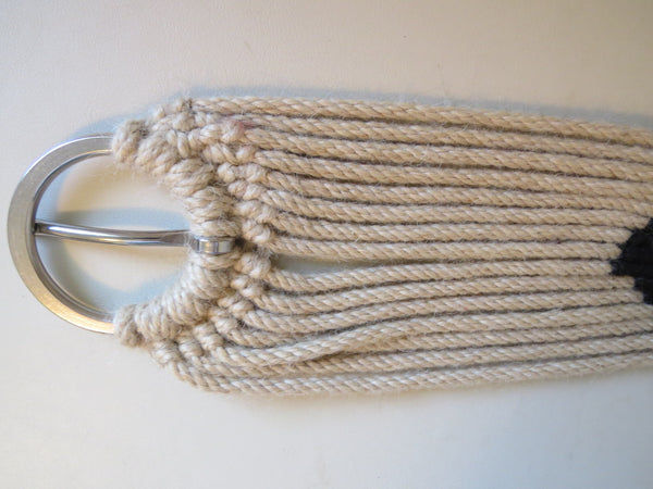 Hand Tied 100% Mohair Cinch Stainless Hardware 26""