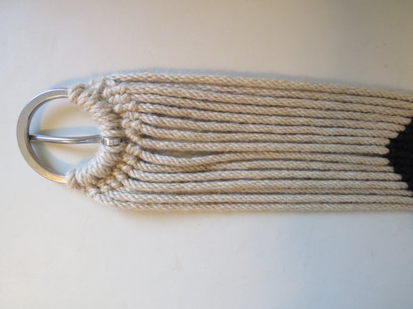 8095A Hand Tied 100% Mohair Cinch Stainless Hardware 32""