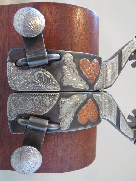 New Handmade DON ROGERS #1802 Spurs
