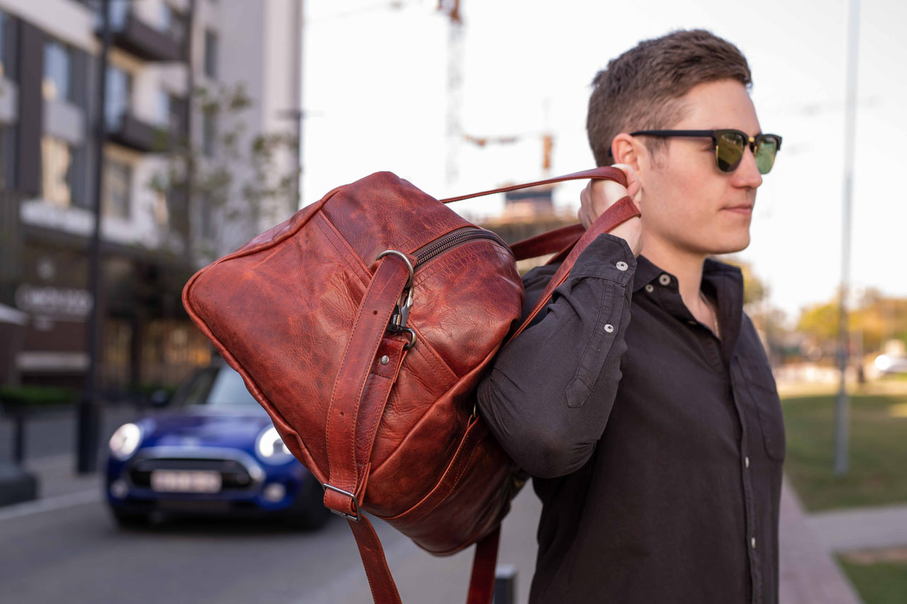 Genuine Leather Travel Bags