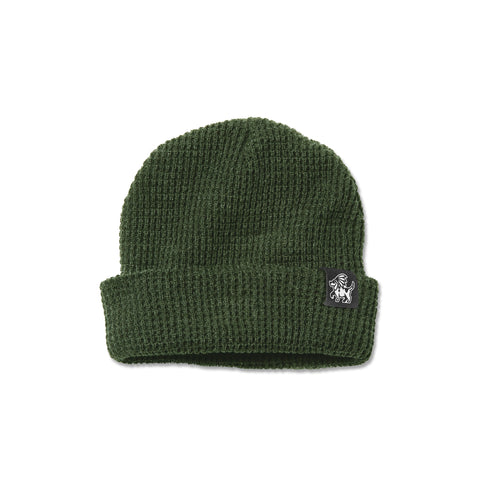 Chiefer Dog Beanie - Forest Green