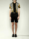 Baroque Print Short Sleeve Shirt