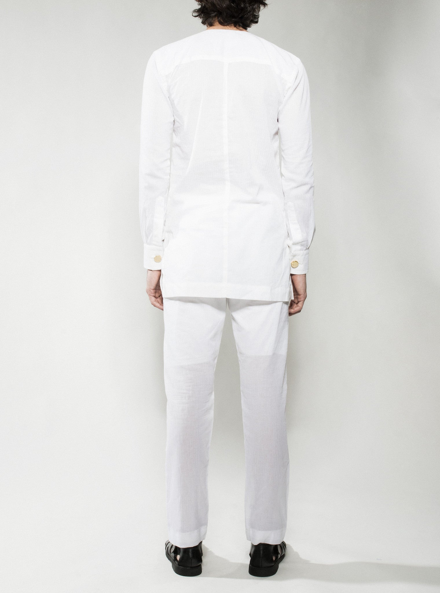 White Kaftan Pants