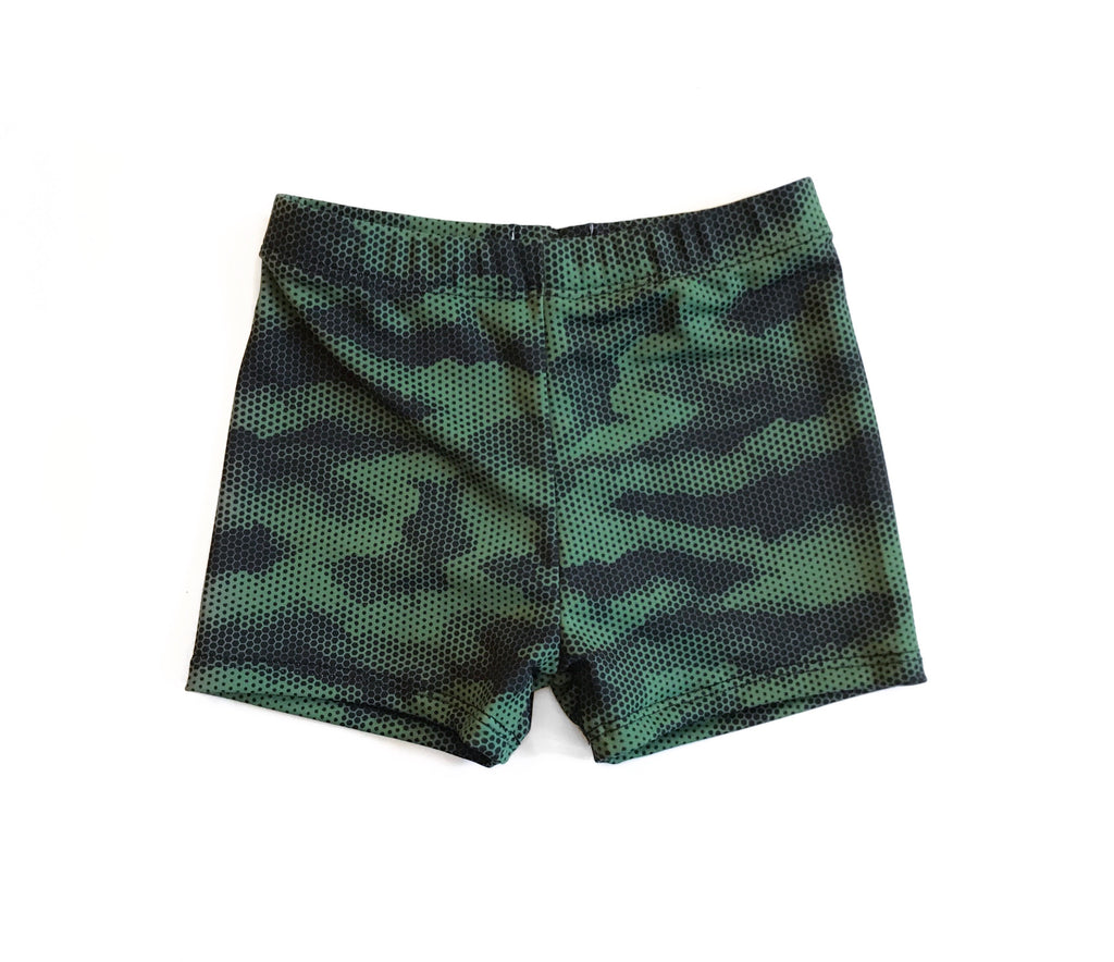 Swim Shorts- Army Camo