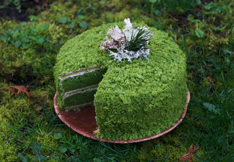 Nettle Cake Recipe