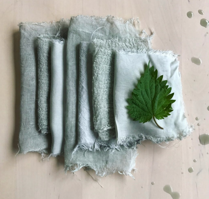 Dyeing with Nettle