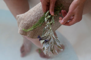 Wildcrafted Nettle Body Cloth