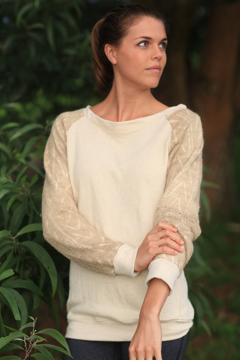 Nettle & Organic Cotton Fiber Fortifying Sweatshirt
