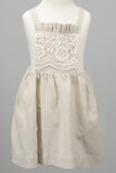 Apron Dress - Linen & Lace