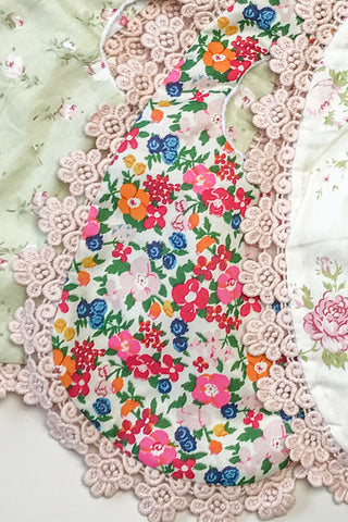 Floral Baby Bib - Bold Floral