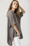 Sorrento Top - Pure Linen