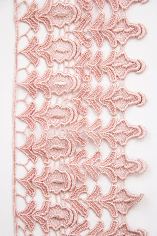 Guipure Lace - Dusty Rose