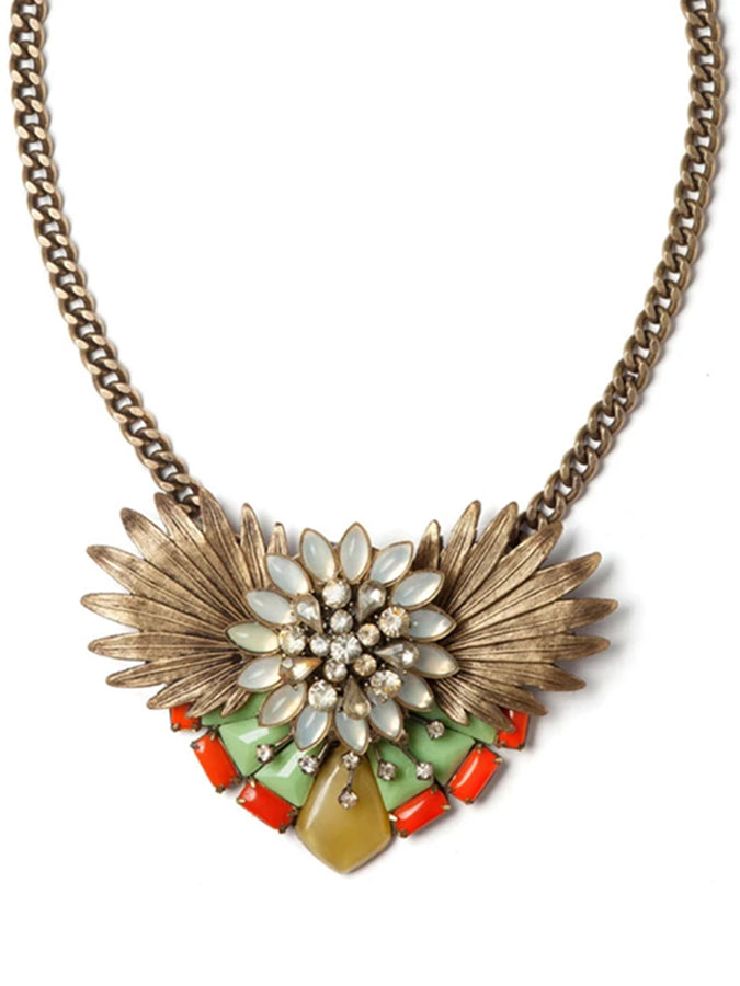 Paradise Flower Statement Necklace