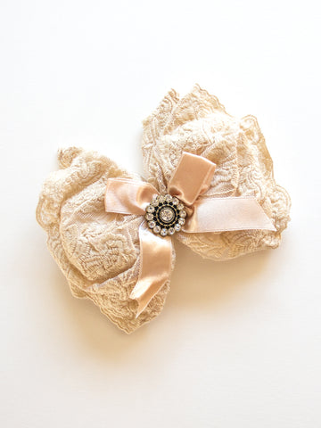 Scented Lace and Satin Sachet