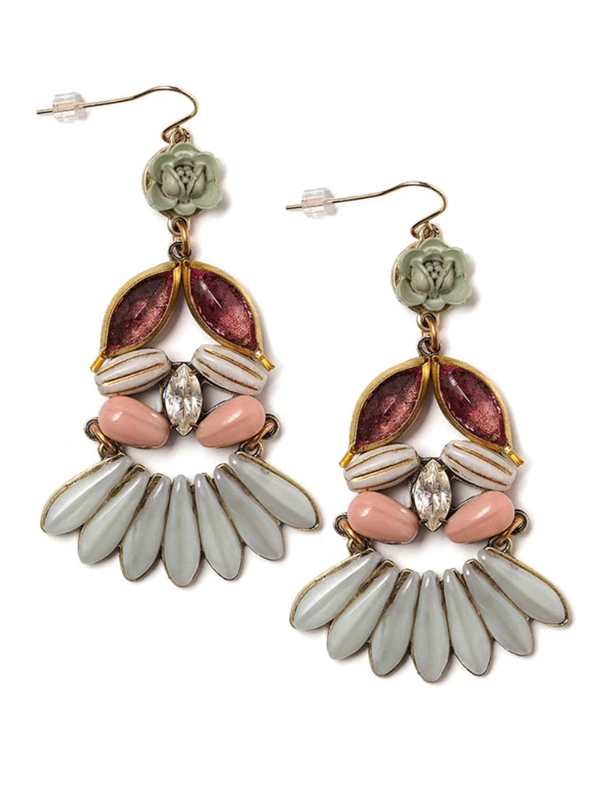 Adelia Statement Earrings