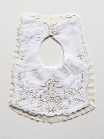 Heirloom Embroidered Bib