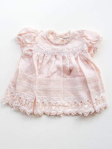 Heirloom Silk Baby Dress