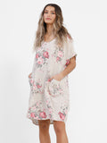 POSIE DRESS - Linen Dress Top