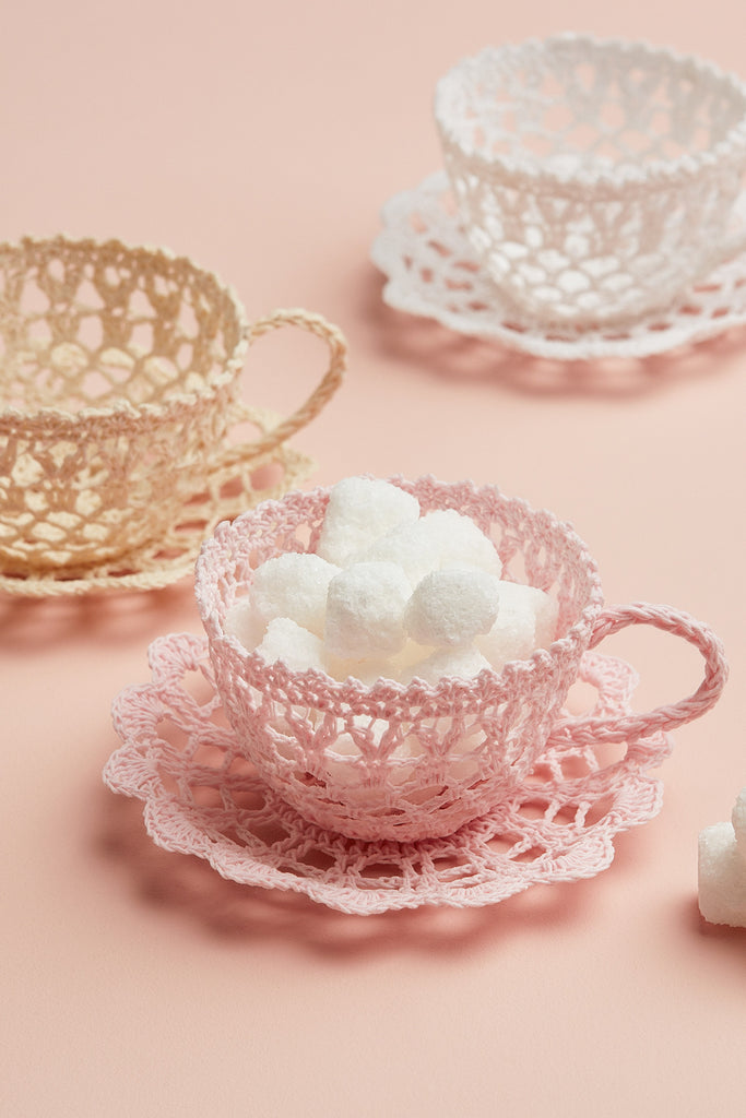 Lace Tea Cups