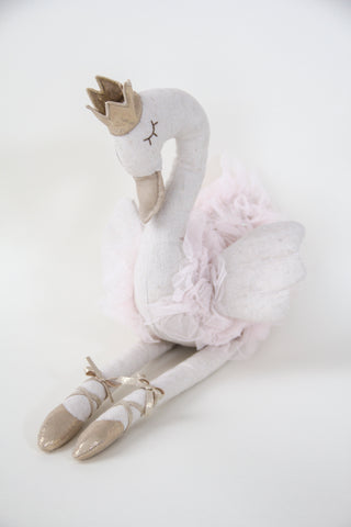 Princess Swan - Large Pink